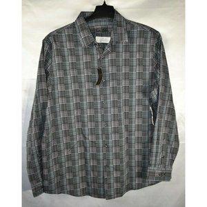 Tasso Elba Men's Stretch Woven Button-Down Shirt